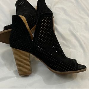 Lucky Brand Booties Black Size 9.5